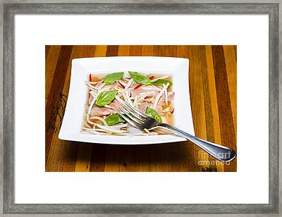 Vietnamese Pho Soup Framed Print by Jorgo Photography - Wall Art Gallery