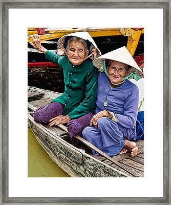 Vietnamese Women Framed Print
