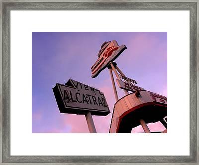 View Alcatraz Framed Print by Elizabeth Hoskinson