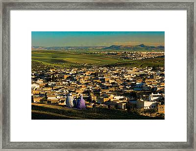 View Ancient Fes Morroco Framed Print by David Smith
