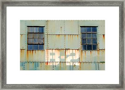 View B-2 Framed Print