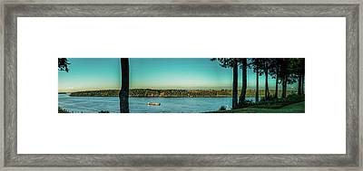 View From 11th Ave. Framed Print