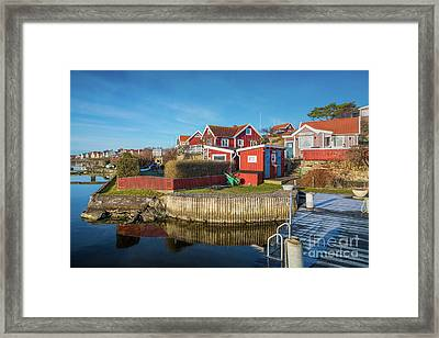 View From A Dock Framed Print