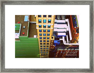 View From Above 41st Framed Print by Susan Lafleur
