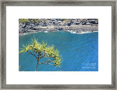 Framed Print featuring the photograph View From Above by Wilko Van de Kamp