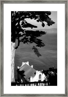 View From Alcatraz Framed Print by Todd Fox