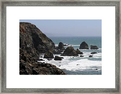 View From Bodega Head In Bodega Bay Ca - 4 Framed Print