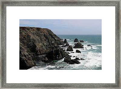 Framed Print featuring the photograph View From Bodega Head In Bodega Bay Ca - 5 by Christy Pooschke