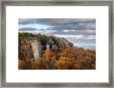 View From Cameron Bluff Framed Print by James Barber