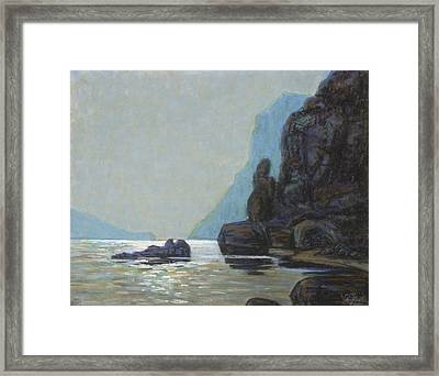 View From Capri Framed Print