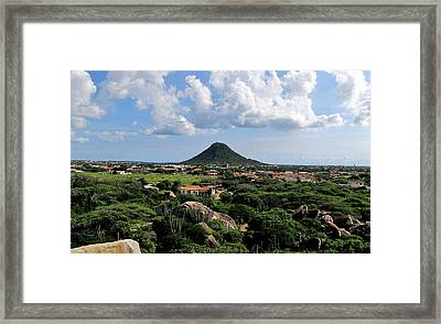View From Casibari Framed Print by Keith Stokes