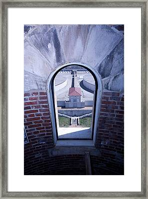 View From Compton Hill Water Tower Framed Print