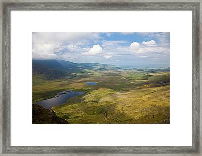 View From Connor Pass Framed Print by Gabriela Insuratelu