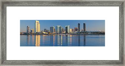 View From Coronado, San Diego Framed Print by Panoramic Images