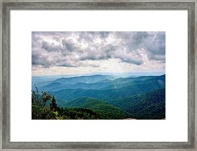 View From Devil's Courthouse Framed Print