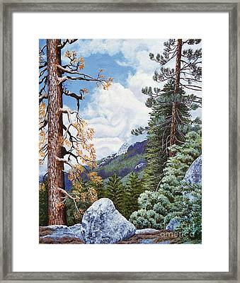 View From High Castle Framed Print