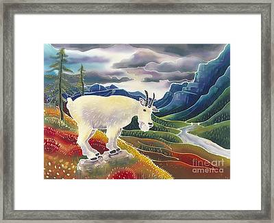 View From High Places Framed Print by Harriet Peck Taylor