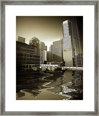 View From Howard Framed Print