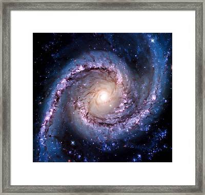 View From Hubble Framed Print