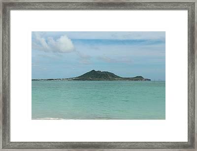 View From Kailua Beach Framed Print