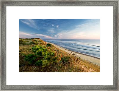 View From Marconi Beach  Framed Print