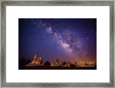 View From Mars Framed Print