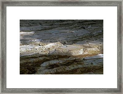 View From Masada Framed Print