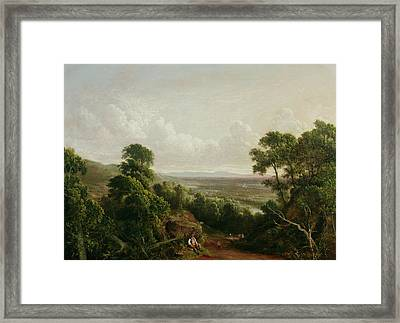 View From Mount Ida Framed Print