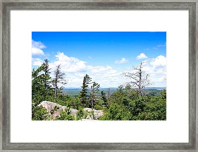 View From Mount Marquette Framed Print