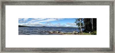 View From My Beach Framed Print
