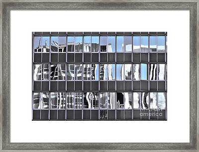 Framed Print featuring the photograph View From My Window by Stephen Mitchell