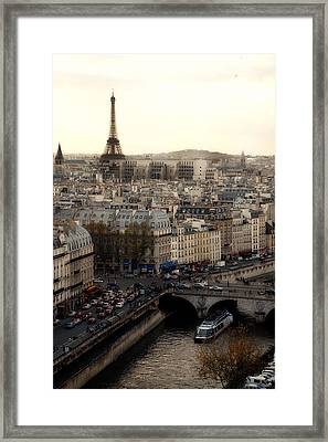View From Notre Dame Framed Print by Cabral Stock