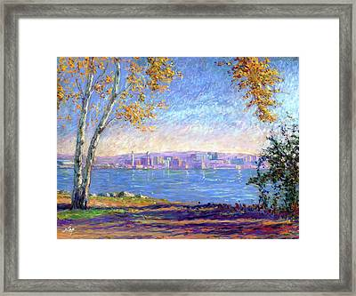 View From Presque Isle Framed Print by Michael Camp