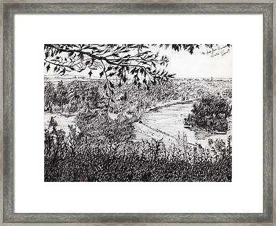 View From Richmond Hill Framed Print