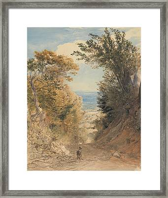 View From Rook's Hill, Kent Framed Print by Samuel Palmer