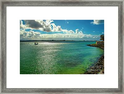 View From San Juan Framed Print by Mariola Bitner