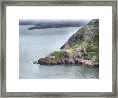 View From Signal Hill Framed Print by Jeff Kolker