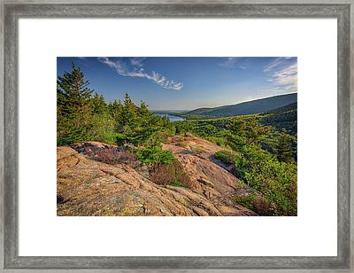 View From South Bubble Framed Print by Rick Berk