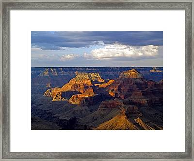 View From South Rim Framed Print by Carrie Putz