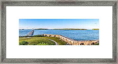 View From Spring Point Framed Print by Tim Sullivan