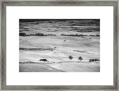 View From Steptoe Framed Print by Jon Glaser