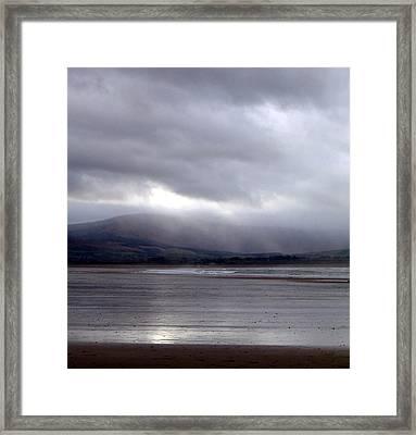 View From Strandhill Beachsligo Ireland Framed Print by Amy Williams