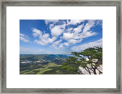 View From Sunset Rock 3 Framed Print