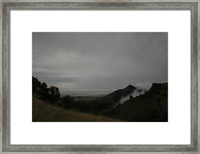 View From Sutter Buttes Framed Print by Suzanne Lorenz