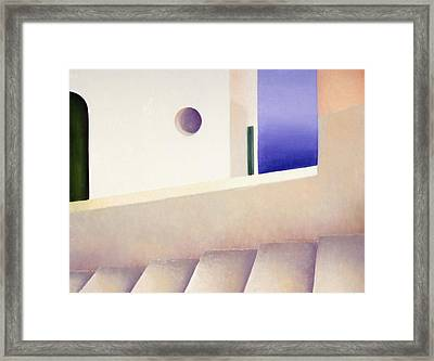 View From The Back Street Framed Print by Gloria Cigolini-DePietro