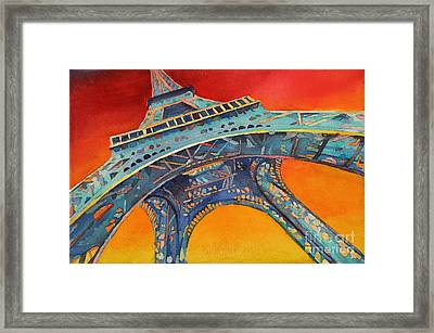 View From The Bottom Framed Print by Ryan Fox