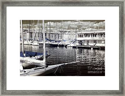 View From The Bow Framed Print by John Rizzuto