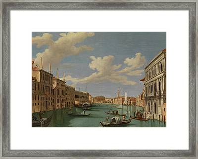 View From The Ca' Calergi Framed Print by Vincenzo Chilone