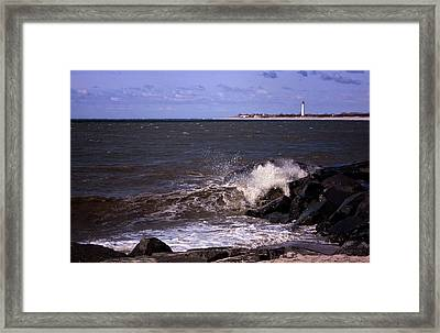 View From The Cove Framed Print by Tom Singleton
