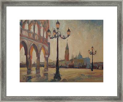 View From The Doge Palace Framed Print
